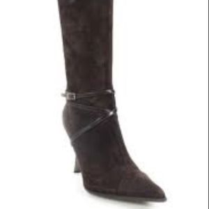 St John Chocolate Brown Suede Boots
